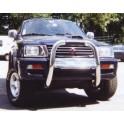 RAMM BIG BAR INOX Ø 76 MITSUBISHI L200 1997- 2001 (100ch)