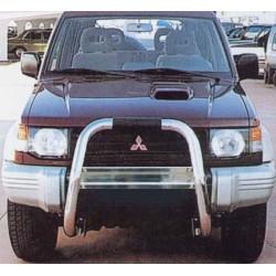 RAMM BIG BAR INOX Ø 76 MITSUBISHI PAJERO 2.5l/3.0l 1991- 1996