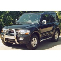 RAMM BIG BAR INOX Ø 76 MITSUBISHI PAJERO 2003- 2007 (DID)