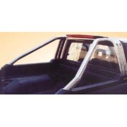 ROLL BAR INOX ( 3ème feux stop ) MITSUBISHI L200 1997- 2005 - accessoires 4X4 MISUTONIDA
