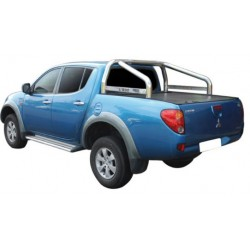 ROLL BAR INOX 76 COMP RTC MITSUBISHI L200 CLUB CAB