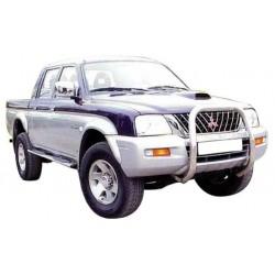 SMALL BAR INOX Ø 63 MITSUBISHI L200 1997- 2001 (100ch, MARQUAGE L200)