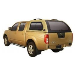 HARD TOP ABS NISSAN D40 DBLE CAB 2005- SANS VITRES LATERALES