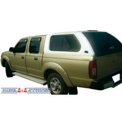 Hard top Carryboy hauteur cabine avec vitres latérales NISSAN NP 300 - accessoir