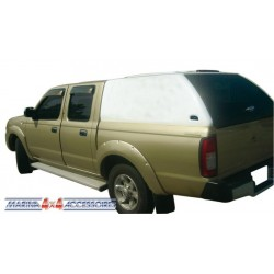 Hard top Carryboy hauteur cabine sans vitres latérales NISSAN NP300 2008-