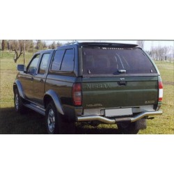 Hard top CARRYBOY NISSAN NAVARA DOUBLE CAB 2002- 2005 AV VITRES - accessoires 4X4 MISUTONIDA