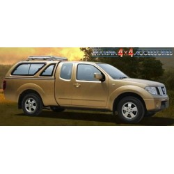 Hard top CARRYBOY NISSAN NAVARA KING CAB 2005- SANS VITRES