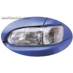 HEADLAMP GUARDS NISSAN X-TRAIL 2001- 2007 PROTECTION PHARES PLEXI