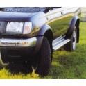 Marche pieds ALU S50 NISSAN KING CAB 2002- 2005 - accessoires 4X4 MISUTONIDA