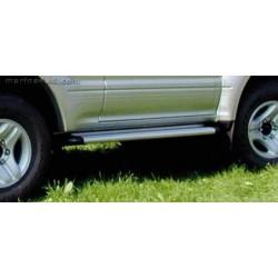 Marche pieds ALU S50 NISSAN PATROL GR 1998- 3 PORTES 1998- 2004