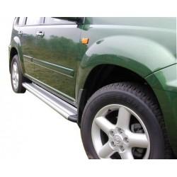 Marche pieds ALU S50 NISSAN XTRAIL 2001- 2007 - accessoires 4X4 MISUTONIDA