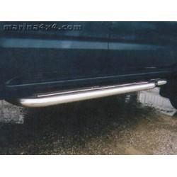 Marche pieds INOX Ø50 NISSAN KING CAB DOUBLE CAB/EXTRA - 1997 - accessoires 4x4
