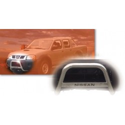 MEDIUM BAR INOX 63.5 NISSAN KING CAB/NAVARA 2002- 2005 - accessoires 4X4 MISUTONIDA