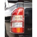 PROTECTION FEUX ARRIERE INOX NISSAN NAVARA D40