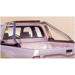 ROLL BAR INOX ( 3ème feux stop ) KING CAB / NAVARRA 1998- 2005 - accessoires 4x4