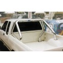 ROLL BAR INOX DOUBLE TUBES Ø 76 NISSAN NAVARA DOUBLE CAB 1998- 2002