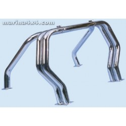 ROLL BAR INOX TRIPLE TUBES Ø 76 NISSAN KING CAB 1992- 1997