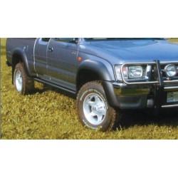 TUBE BAS DE CAISSE NISSAN NAVARA DOUBLE CAB 1998- 2005 - accessoires 4X4 MISUTONIDA