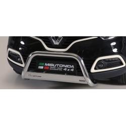 MEDIUM BAR INOX 63 RENAULT CAPTUR 2013- CE - accessoires 4X4 MISUTONIDA