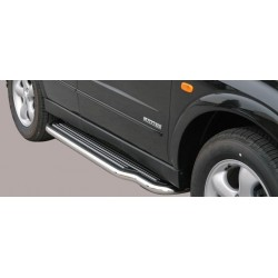 Marche pieds INOX 50 SSANGYONG KYRON 2007- accessoires 4X4 MISUTONIDA