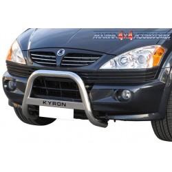 MEDIUM BAR INOX 63 SSANGYONG KYRON 2007- CE - accessoires 4X4 MISUTONIDA