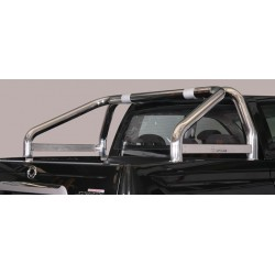 ROLL BAR INOX DOUBLES TUBES 76 SSANGYONG ACTYON SPORTS 2012- - accessoires 4X4 MISUTONIDA