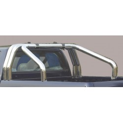 ROLL BAR INOX TRIPLE TUBES 76 SSANGYONG ACTYON SPORTS 2012- - accessoires 4X4 MISUTONIDA