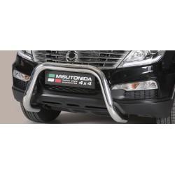 SUPER BAR INOX 76 SSANGYONG REXTON W 2013- CE accessoires 4x4 MISUTONIDA