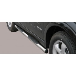 TUBES MARCHE PIEDS INOX 76 SSANGYONG KYRON 2007- accessoires 4X4 MISUTONIDA