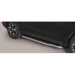 MARCHE PIEDS INOX 50 SUBARU FORESTER 2013- accessoires 4x4 MISUTONIDA