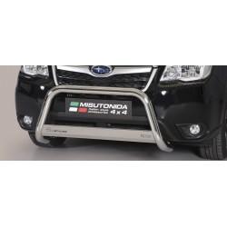 MEDIUM BAR INOX 63 SUBARU FORESTER 2013- CE accessoires 4x4 MISUTONIDA