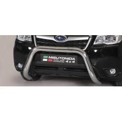 SUPER BAR INOX 76 SUBARU FORESTER 2013- CE accessoires 4x4 MISUTONIDA