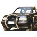 BIG BAR INOX Ø 76 SUZUKI VITARA 1996+TD 3P / V6 5P / 5P ANCIEN MODELE