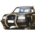 BIG BAR INOX Ø 76 SUZUKI VITARA 3P - 1996 - accessoires 4X4 MISUTONIDA