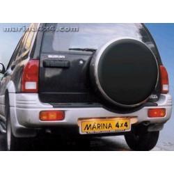 Couvre roue inox fermeture à clé SUZUKI VITARA - accessoires 4X4 MISUTONIDA
