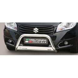 MEDIUM BAR INOX 63 SUZUKI SX4 S-CROSS 2013- CE - accessoires 4X4 MISUTONIDA