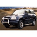 MEDIUM BAR INOX 63.5 SUZUKI GRAND VITARA 1998- 2005 - accessoires 4X4 MISUTONIDA
