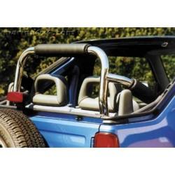 ROLL BAR INOX SUZUKI JIMNY CABRIOLET 1998- - accessoires 4X4 MISUTONIDA