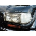 HEADLAMP GUARDS TOYOTA HDJ80 PROTECTION PHARES PLEXI