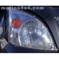 HEADLAMP GUARDS TOYOTA J120/125 PROTECTION PHARES PLEXI