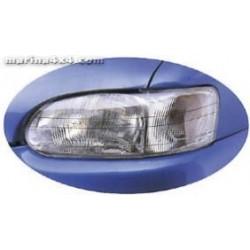 HEADLAMP GUARDS TOYOTA LC 100 PROTECTION PHARES PLEXI accessoires 4X4 MISUTONIDA