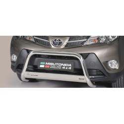 MEDIUM BAR INOX 63 TOYOTA RAV4 2013- CE accessoires 4x4 MISUTONIDA