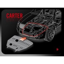 PROTEGE CARTER TOYOTA LC J120 2001-2005- ALU 5MM