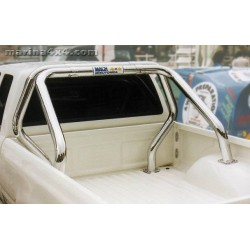ROLL BAR INOX DOUBLE TUBES Ø 76 TOYOTA HILUX 1998- 2004 DBLE CAB