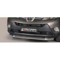 TUBE PROTECTION AVANT INOX 76 TOYOTA RAV4 2013- accessoires 4x4 MISUTONIDA