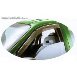 DEFLECTEUR D'AIR VOLKSWAGEN AMAROK DOUBLE CAB 2010- 4 Pieces - accessoires 4X4 MISUTONIDA