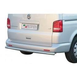 PROTECTION ARRIERE INOX 63 VW T5 2010- CE - accessoires 4X4 MISUTONIDA