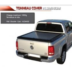 TONNEAU COVER ALU VOLKSWAGEN AMAROK DOUBLE CAB 2010- Cheker plate - accessoires 4X4 MISUTONIDA