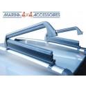 Porte skis 4 paires,fermeture à clé pour Tonneau Cover Aluminium Upstone. accessoires 4X4 MISUTONIDA