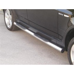 TUBES MARCHE PIEDS INOX 76 BMW X3 - Accessoires 4x4 - accessoires 4X4 MISUTONIDA